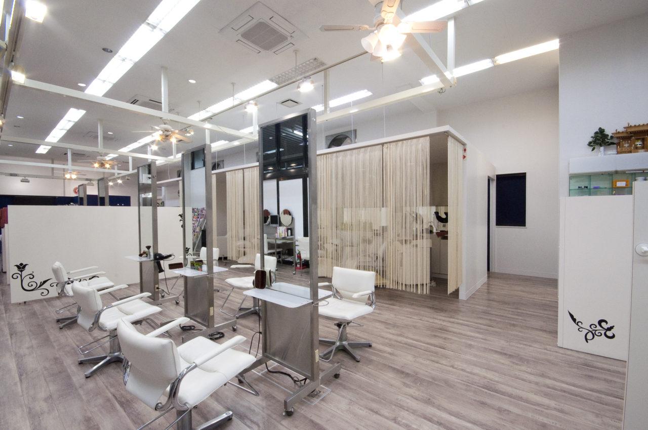 >理美容室3店舗+エナジーサロン「G-HAIR」